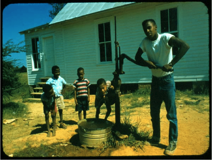 Myrtle School, Union County, 1956