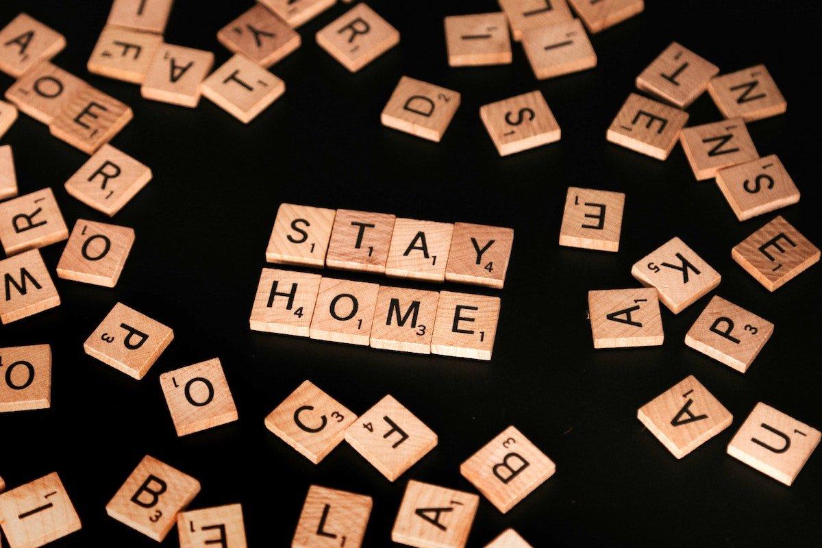 Stay at Home Scrabble - coronavirus - Rethink Mississippi